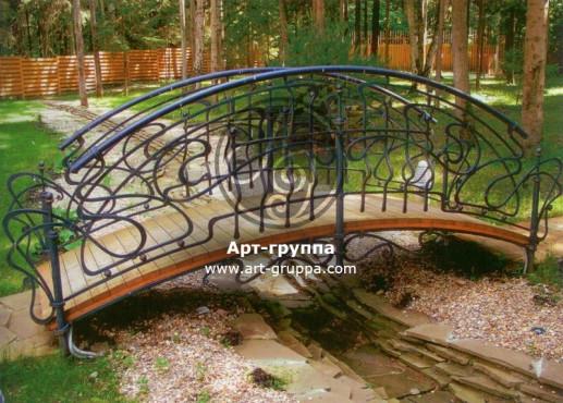 купить Мост кованый - изделие: 1211