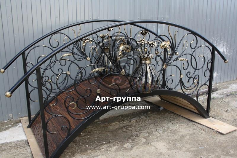 купить Мост кованый - изделие: 1212