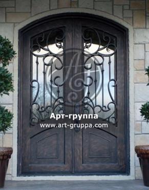 купить Дверь кованая - изделие: 1280