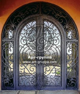 купить Дверь кованая - изделие: 1281