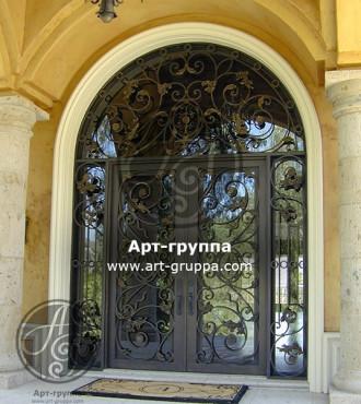 купить Дверь кованая - изделие: 1282