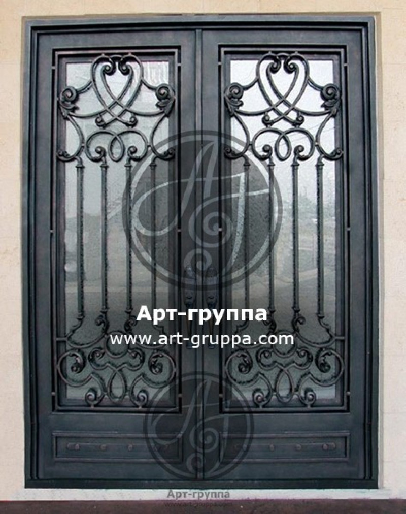 купить Дверь кованая - изделие: 1283