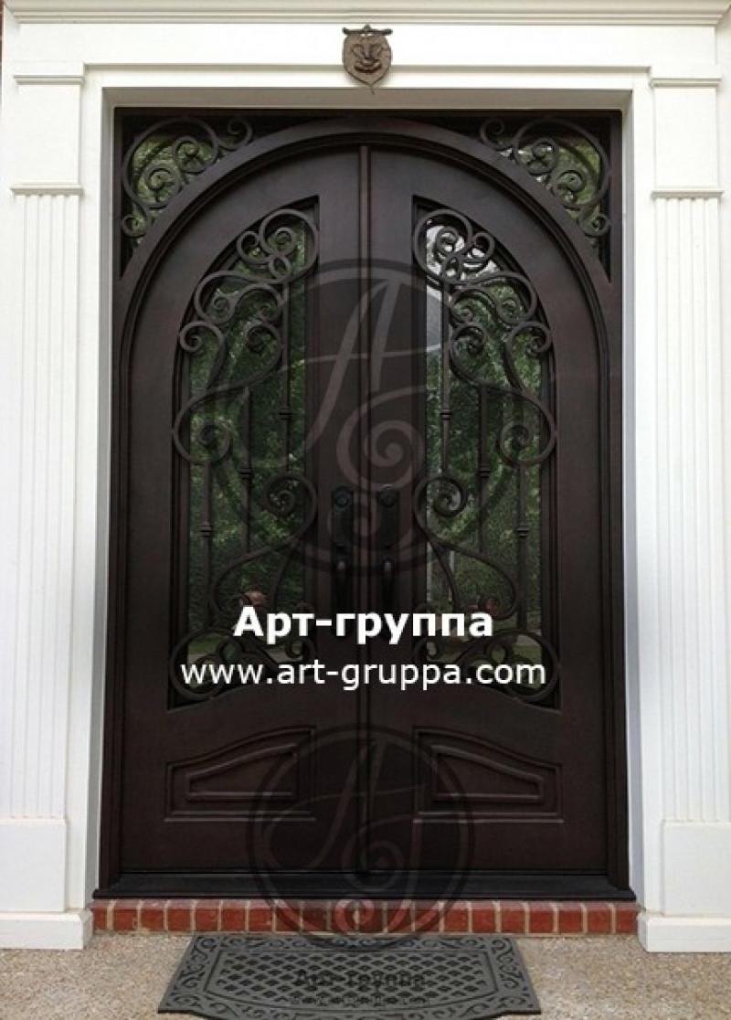 купить Дверь кованая - изделие: 1284