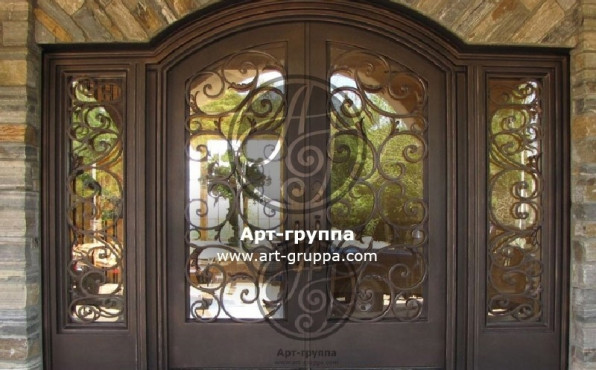 купить Дверь кованая - изделие: 1285