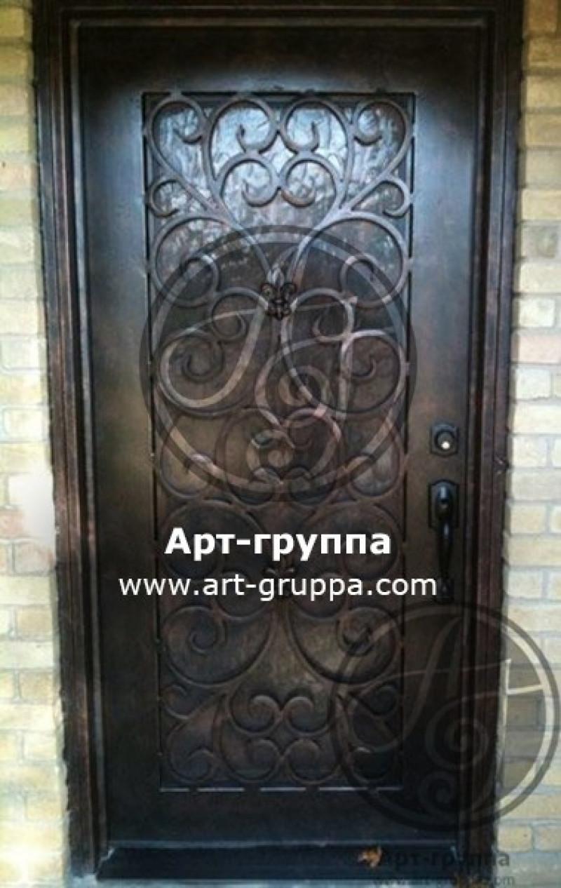 купить Дверь кованая - изделие: 1286