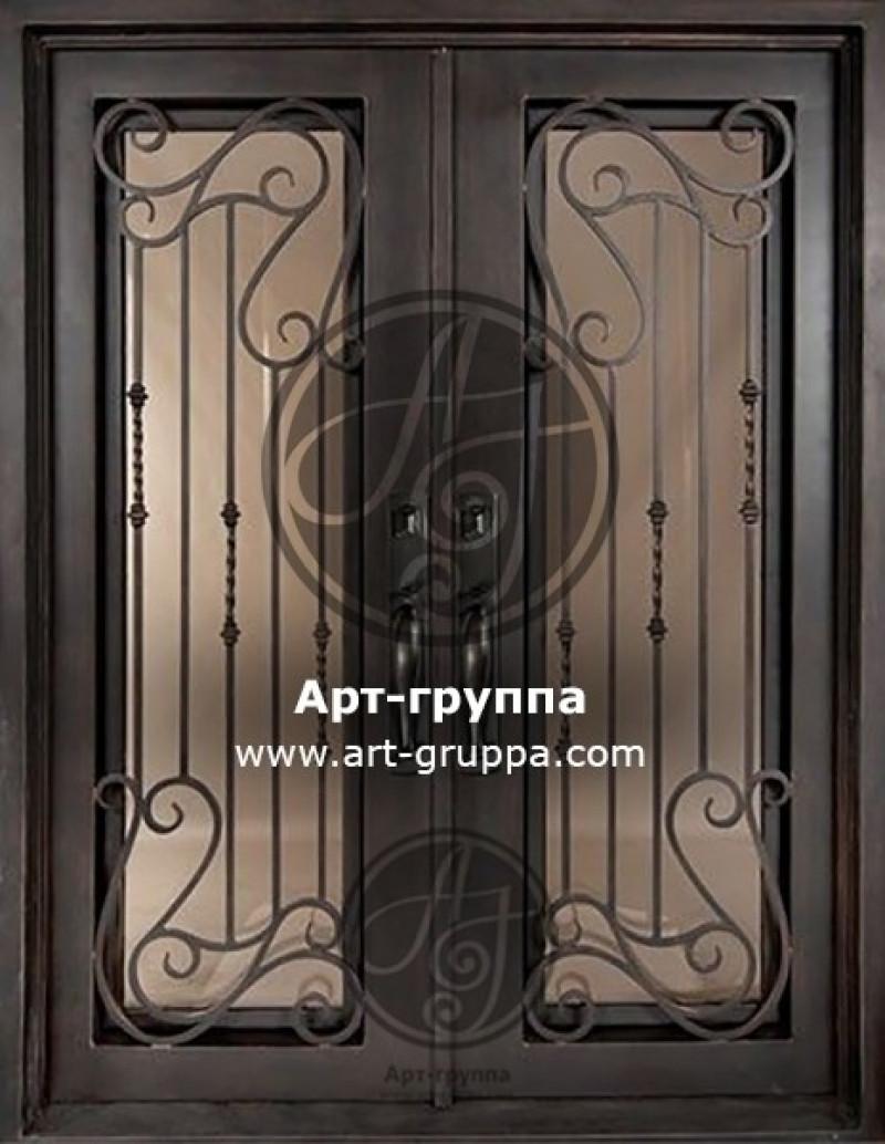 купить Дверь кованая - изделие: 1287