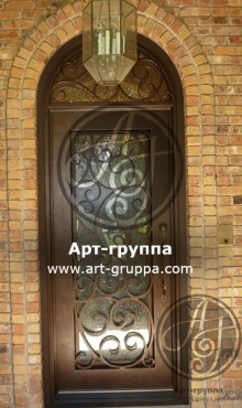 купить Дверь кованая - изделие: 1288