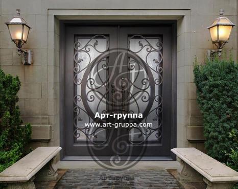 купить Дверь кованая - изделие: 1289
