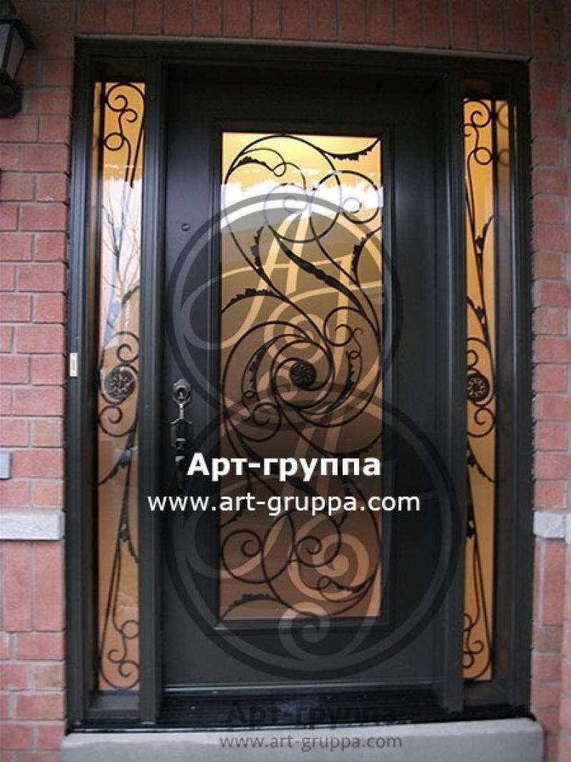 купить Дверь кованая - изделие: 1290