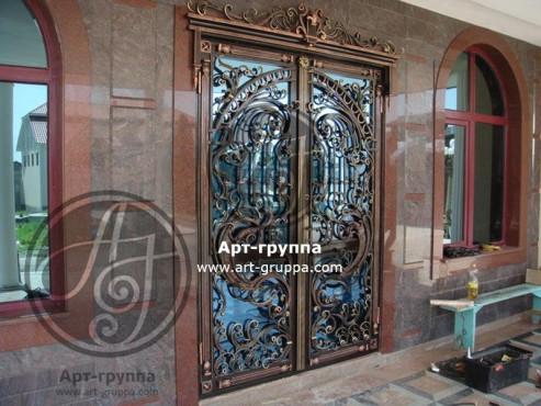 купить Дверь кованая - изделие: 1291
