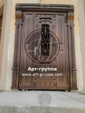 купить Дверь кованая - изделие: 1293