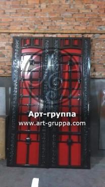купить Дверь кованая - изделие: 1295
