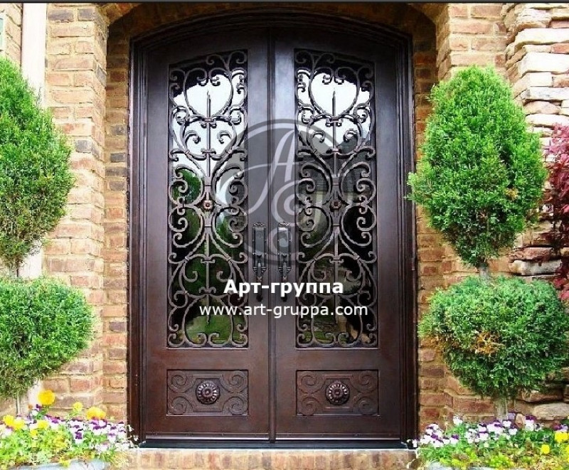 купить Дверь кованая - изделие: 1296