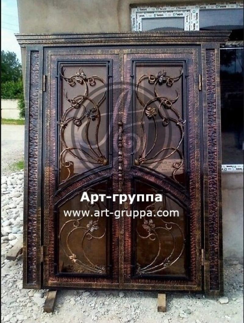 купить Дверь кованая - изделие: 1297