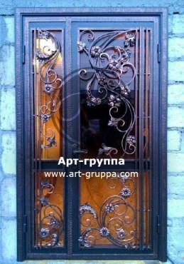 купить Дверь кованая - изделие: 1298