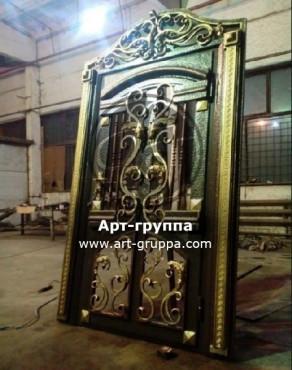 купить Дверь кованая - изделие: 1299