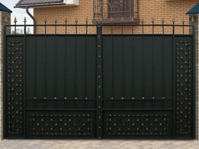 купить Ворота кованые - изделие 5003