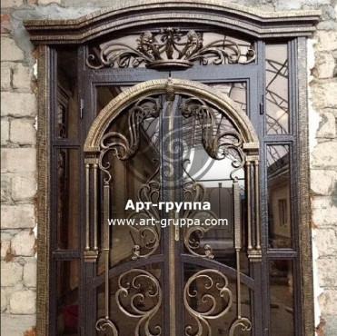 купить Дверь кованая - изделие: 1300
