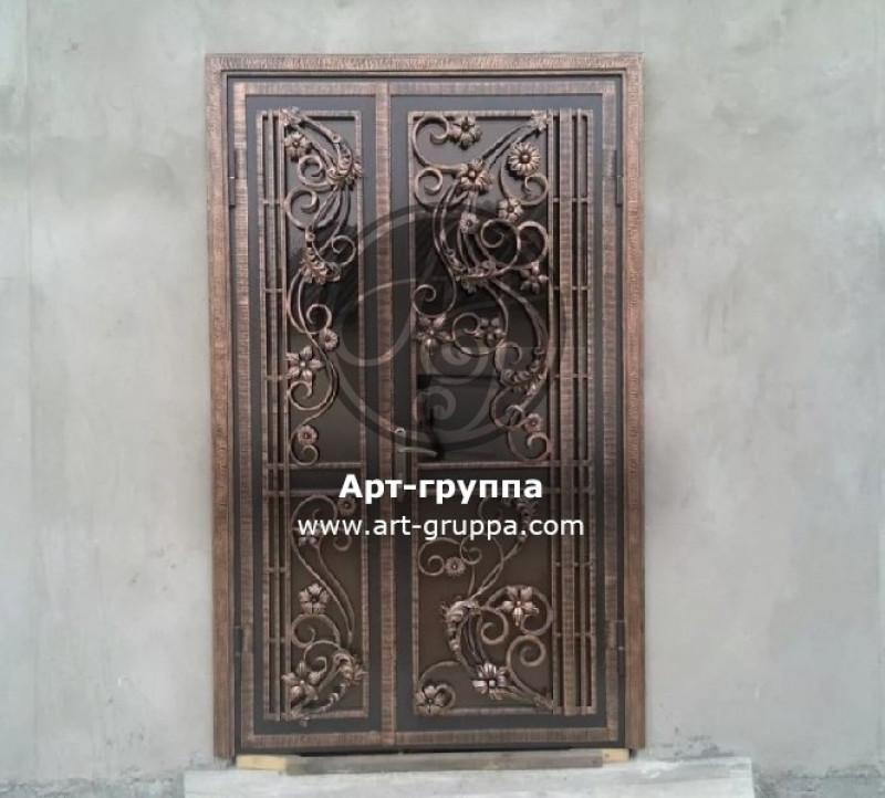 купить Дверь кованая - изделие: 1301