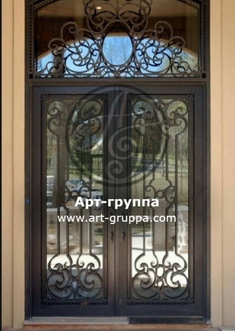купить Дверь кованая - изделие: 1306