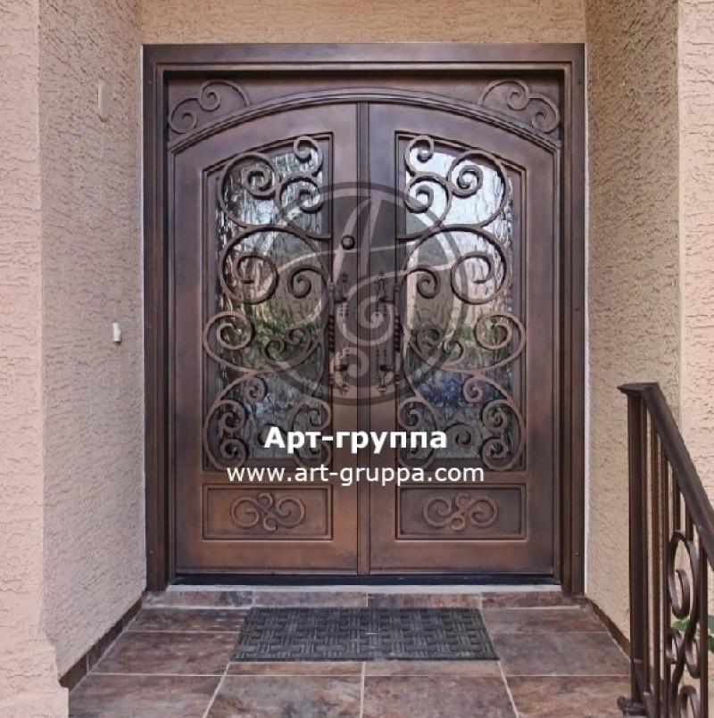 купить Дверь кованая - изделие: 1310
