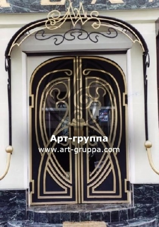 купить Дверь кованая - изделие: 1311
