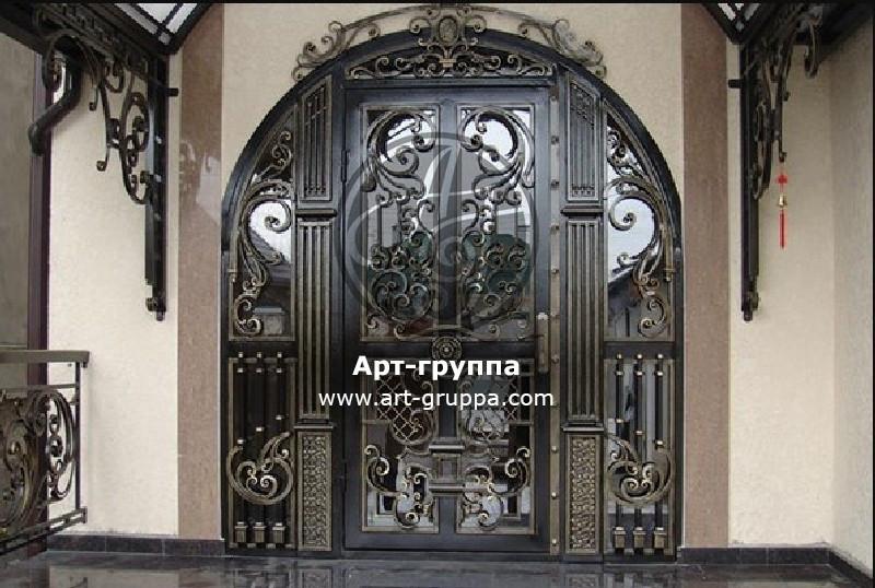 купить Дверь кованая - изделие: 1316