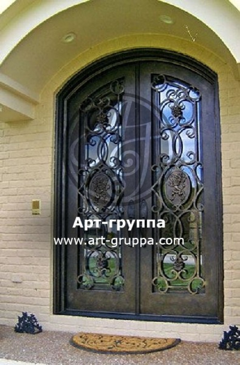 купить Дверь кованая - изделие: 1317