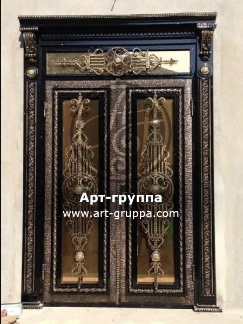 купить Дверь кованая - изделие: 1319