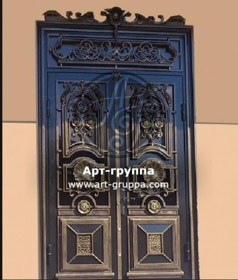 купить Дверь кованая - изделие: 1323
