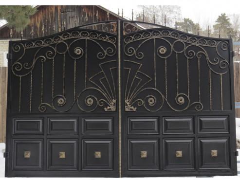 купить Ворота кованые - изделие 5004