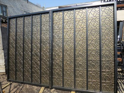 купить Ворота кованые - изделие 5005
