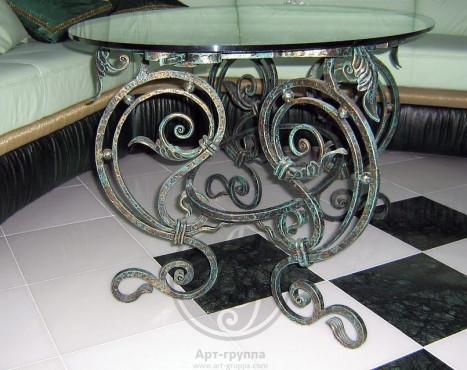 купить Стол кованый - изделие: 1514