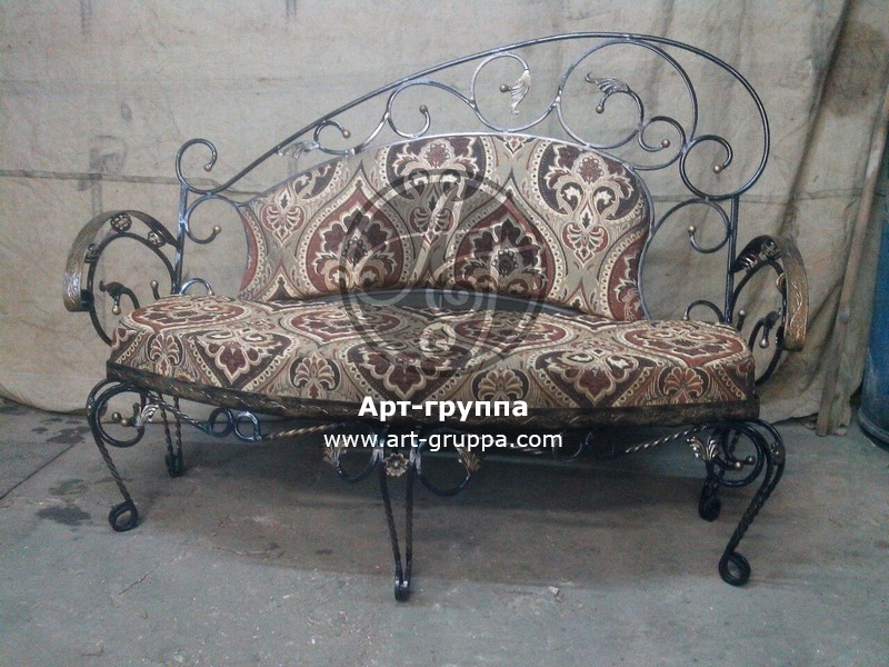 купить Диван кованый - изделие: 1551