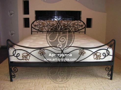 купить Кровать кованая - изделие: 1605