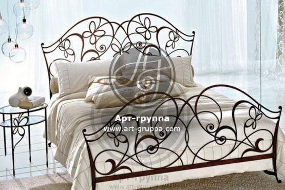 купить Кровать кованая - изделие: 1606