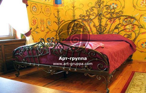 купить Кровать кованая - изделие: 1611