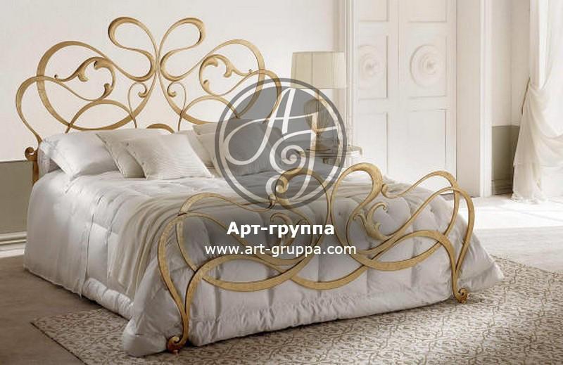 купить Кровать кованая - изделие: 1614