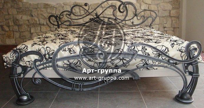 купить Кровать кованая - изделие: 1615