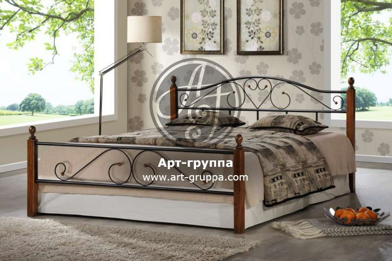 купить Кровать кованая - изделие: 1617