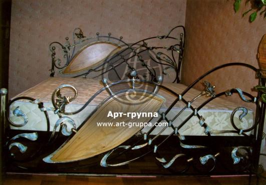 купить Кровать кованая - изделие: 1620
