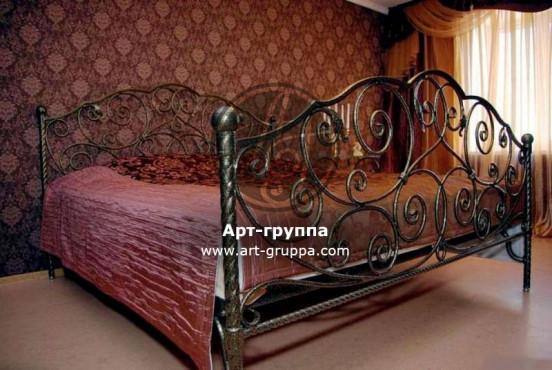 купить Кровать кованая - изделие: 1621