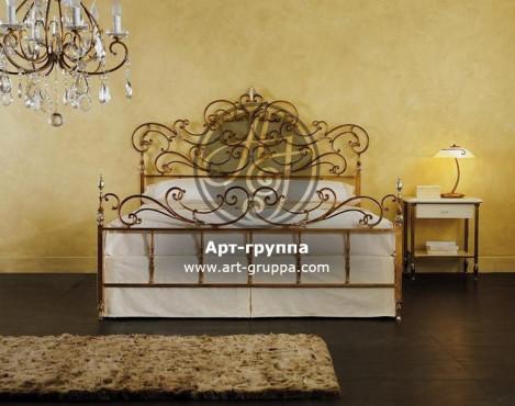 купить Кровать кованая - изделие: 1622