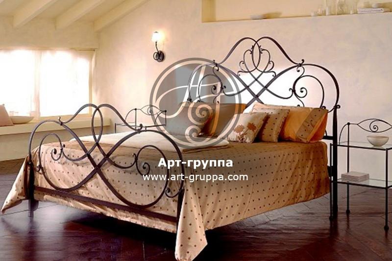 купить Кровать кованая - изделие: 1623