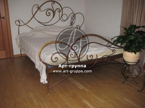 купить Кровать кованая - изделие: 1624