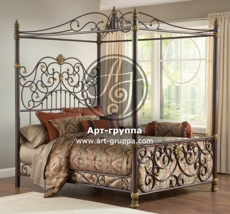 купить Кровать кованая - изделие: 1627