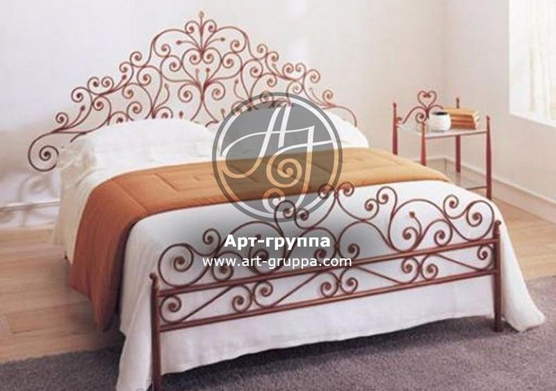 купить Кровать кованая - изделие: 1628