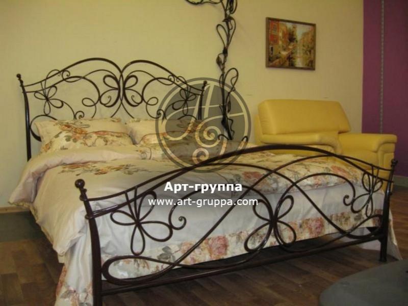 купить Кровать кованая - изделие: 1629