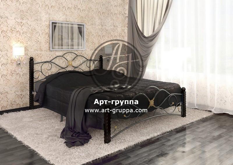 купить Кровать кованая - изделие: 1634