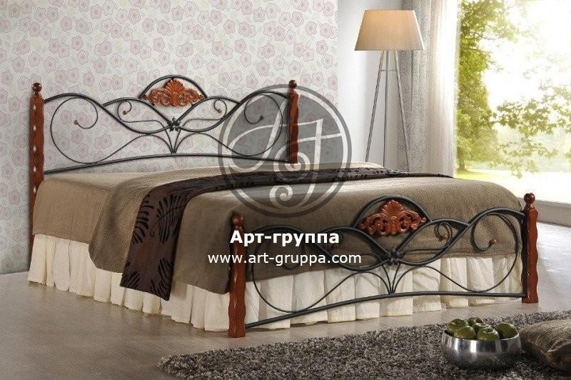 купить Кровать кованая - изделие: 1635